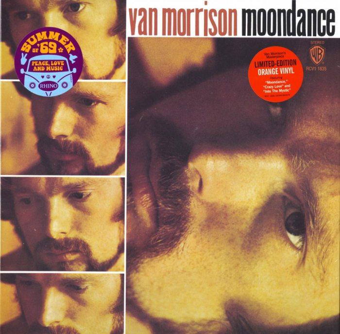 Van Morrison - Moondance - Limited Edition, Orange, Colored Vinyl, Rhino, 2019