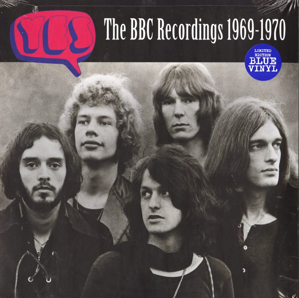 Yes - The BBC Recordings 1969-1970 - Limited Edition, Blue, Colored Vinyl, 2XLP, Purple Pyramid, 2019