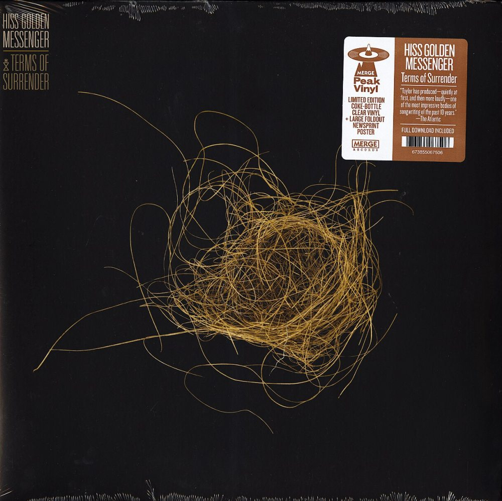Hiss Golden Messenger - Terms Of Surrender - Limited Edition, Clear Vinyl, Merge Records, 2019