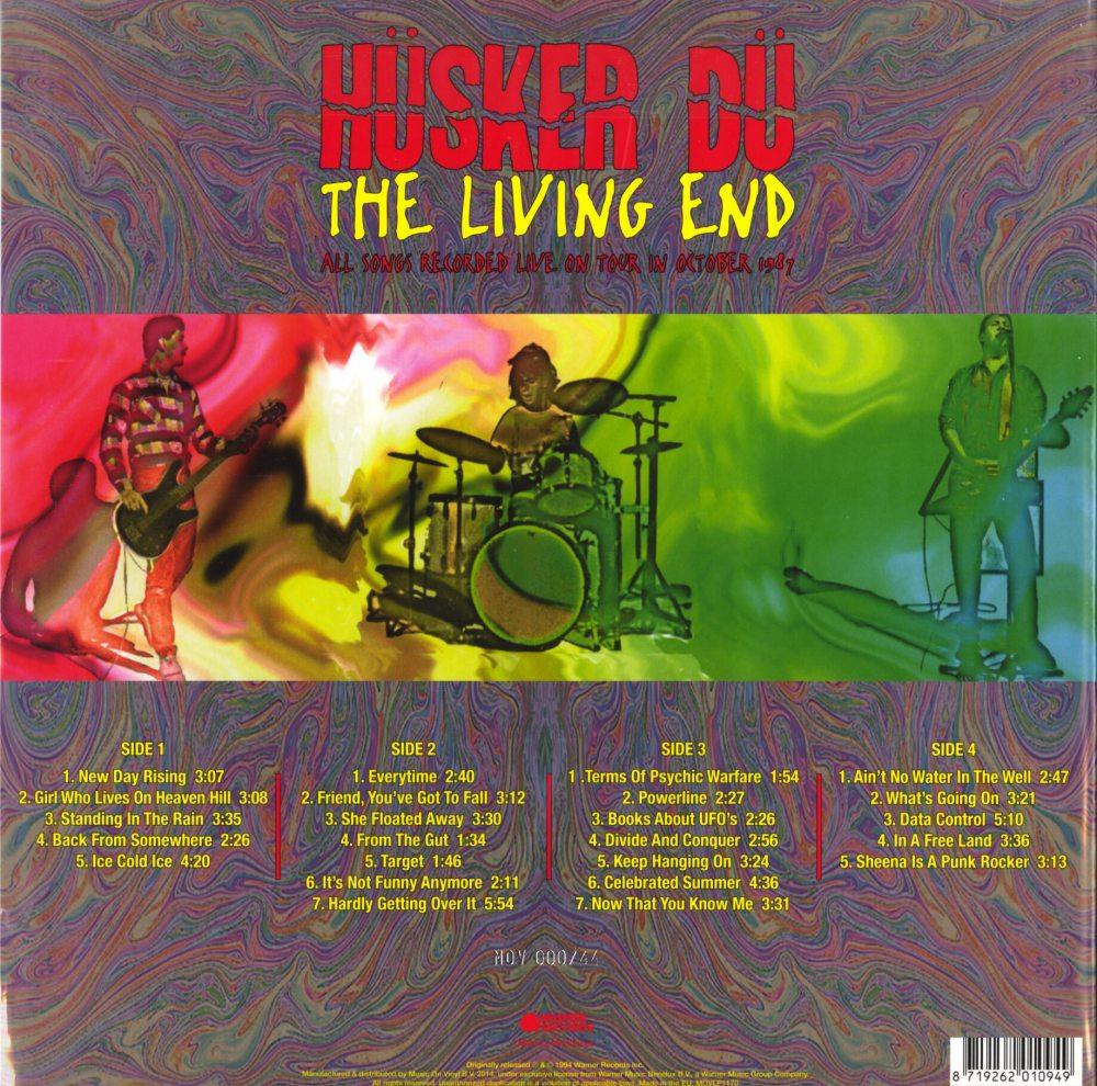 Husker Du - The Living End - Ltd Ed, Red, Double Vinyl, Numbered, M.O.V., 2019