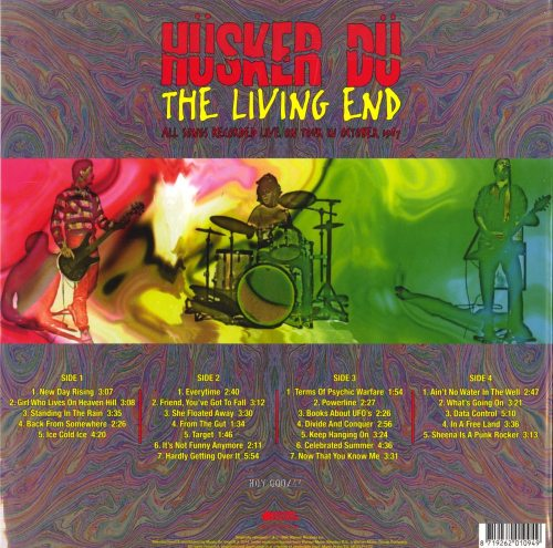Husker Du - The Living End - Ltd Ed, Red, Double Vinyl, Numbered, M.O.V., 2019