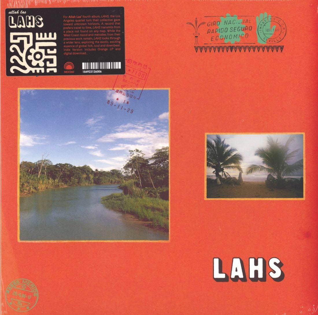 Allah-Las - LAHS - Ltd Ed, Orange, Colored Vinyl, Mexican Summer, 2019
