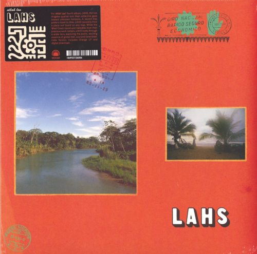 Allah-Las - LAHS - Ltd Ed, Orange, Colored Vinyl, Mexican Summer, 2019