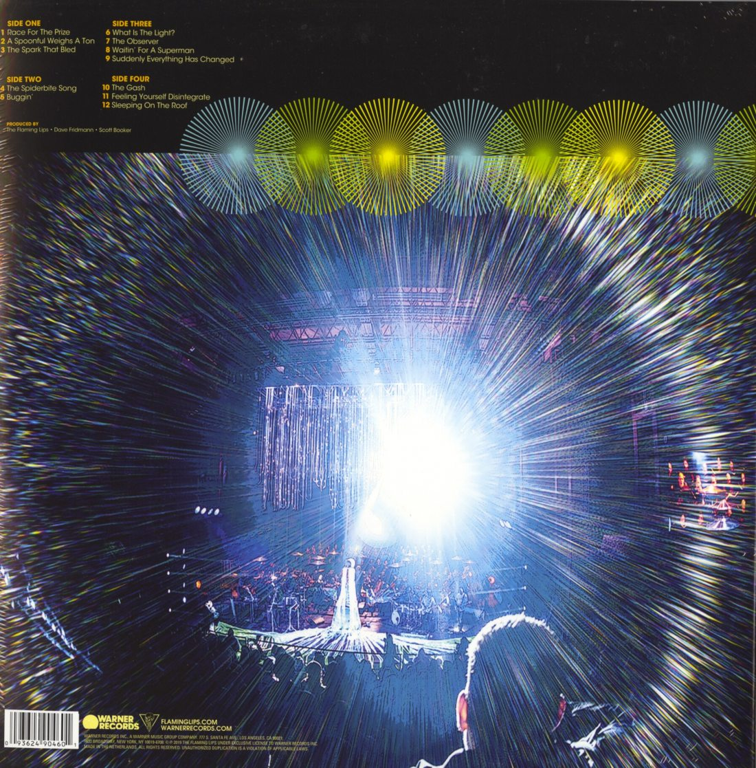 The Flaming Lips - Soft Bulletin: Live At Red Rocks - Double Vinyl, LP, WEA, 2019