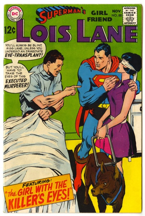 Superman's Girlfriend Lois Lane #88, Neal Adams, DC Comics, 1968
