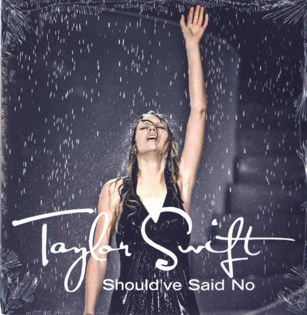 """Taylor Swift - Should've Said No, Limited Ed, White Vinyl, 7"""" Single, Numbered, Big Machine Records, 2020"""