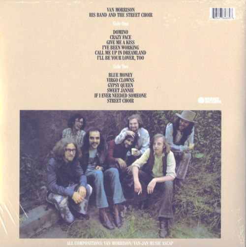 Van Morrison - His Band & The Street Choir - Limited Edition, Turquoise, Colored Vinyl, Reissue, WEA, 2020