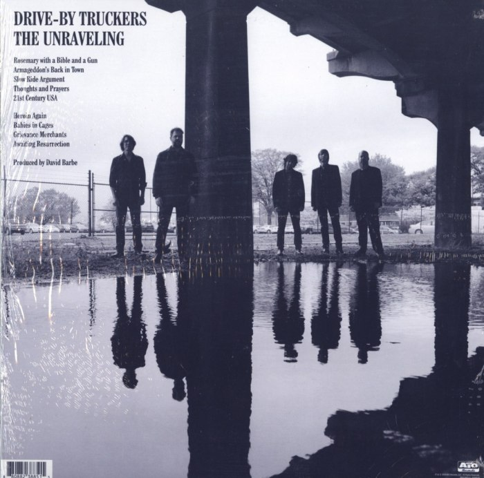 Drive-By Truckers - The Unraveling - Limited Edition, Marble Sky, Colored Vinyl, Ato Records, 2020