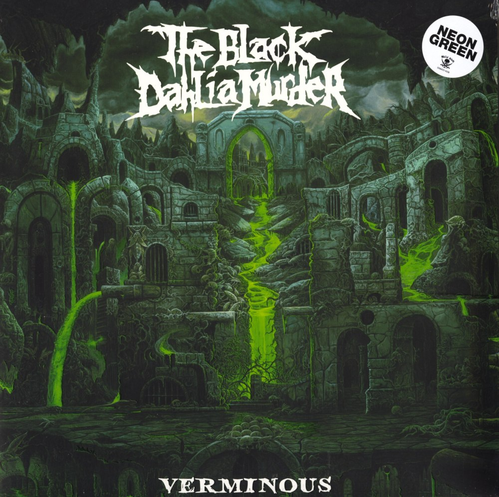 The Black Dahlia Murder - Verminous - Limited Edition, Neon Green, Colored Vinyl, Metal Blade, 2020