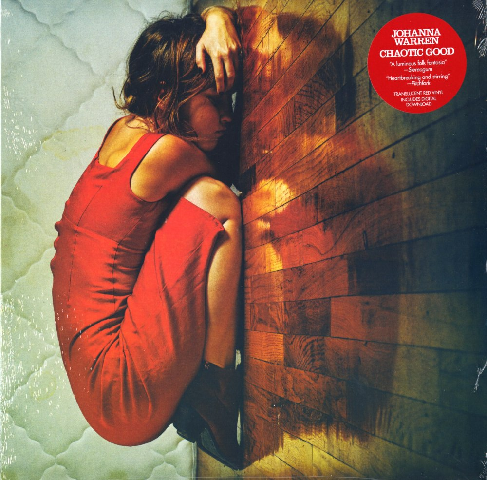 Johanna Warren - Chaotic Good - Limited Edition, Red, Colored Vinyl, Wax Nine/Carpark Records, 2020