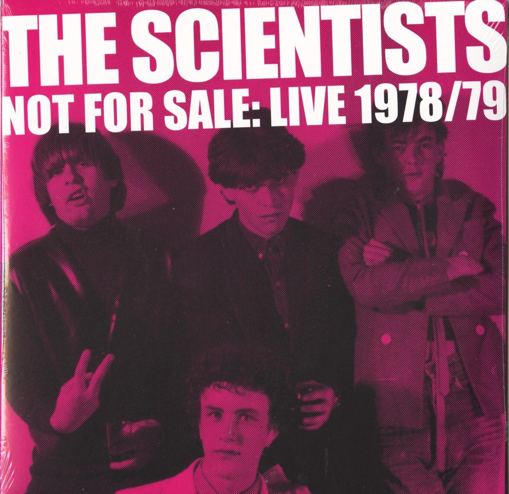 The Scientists - Not For Sale: Live '78/ '79 - Double Vinyl, LP, Grown Up Wrong, 2019