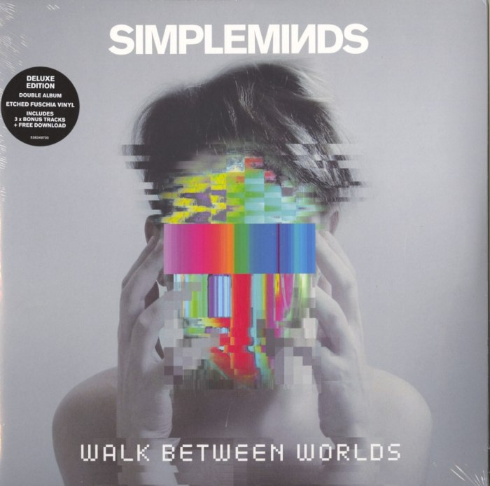 Simple Minds - Walk Between Worlds - Deluxe Edition, Fuchsia, Colored Vinyl, 2XLP, BMG, 2018