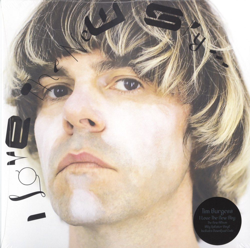 Tim Burgess - I Love The New Sky - Splatter, Colored Vinyl, LP, Bella Union, 2020