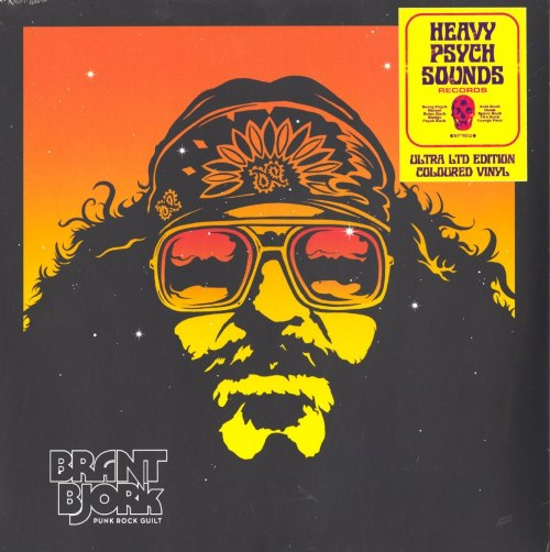 Brant Bjork - Punk Rock Guilt - Ultra Limited Edition, Orange Splatter, Vinyl, LP, Heavy Psych Sounds, 2020