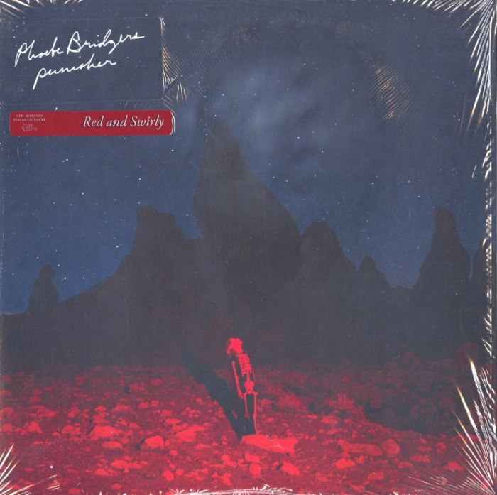 Phoebe Bridgers - Punisher - Limited Edition, Red, Colored Vinyl, LP, Dead Oceans, 2020