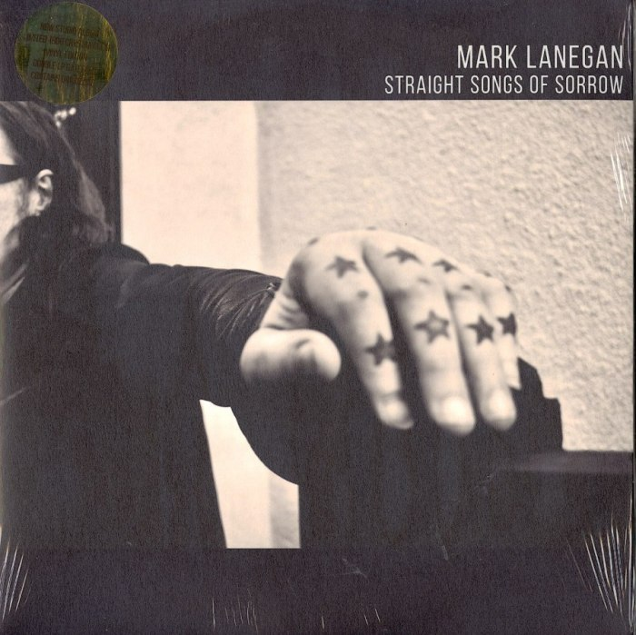 Mark Lanegan - Straight Songs Of Sorrow - Limited Edition, Clear Vinyl, LP, Heavenly, 2020