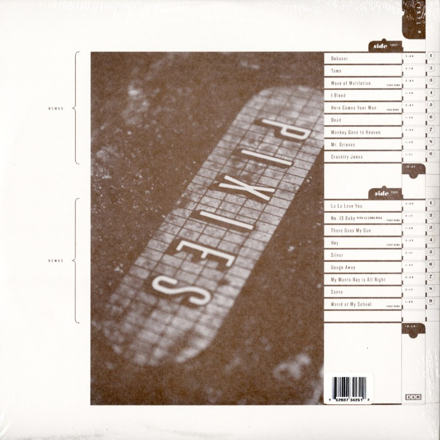 Pixies - Doolittle 25: B-Sides Peel Sessions & Demos - 180 Gram, Triple Vinyl, LP, 4AD, 2015