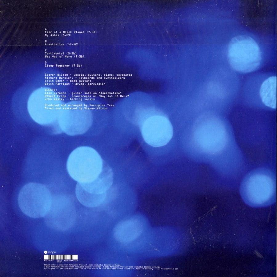 Porcupine Tree - Fear Of A Blank Planet - Double Vinyl, LP, Kscope, 2018