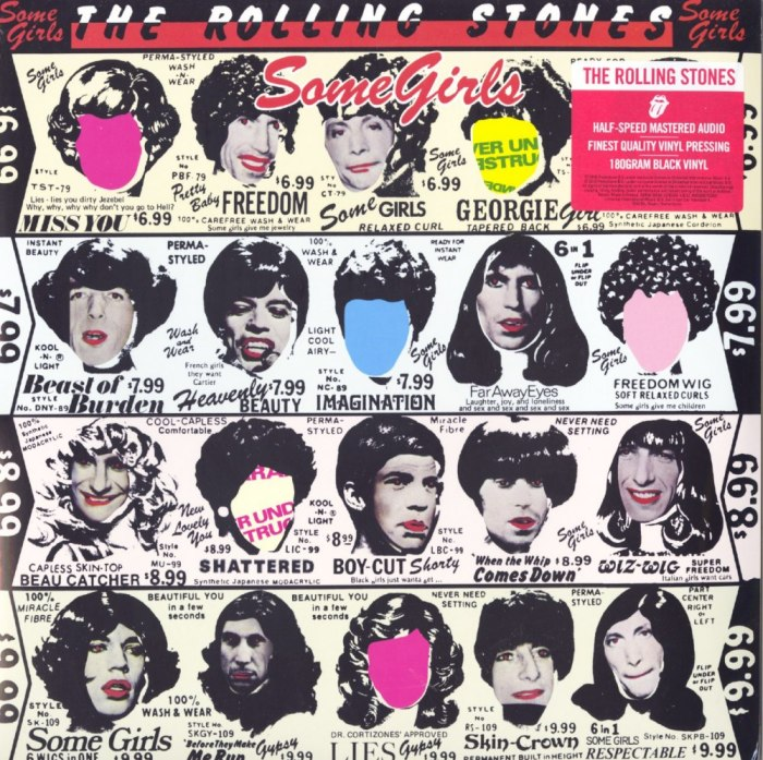 Rolling Stones - Some Girls - Half Speed Mastered, 180 Gram, Audiophile Vinyl, LP, Reissue, Interscope Records, 2020