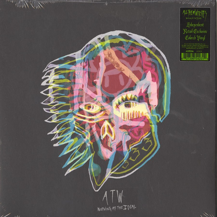 All Them Witches - Nothing As The Ideal - Limited Edition, Clear, Colored Vinyl, LP, New West Records, 2020