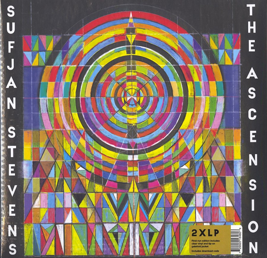 Sufjan Stevens - The Ascension - Limited Edition, Clear, Colored Vinyl, 2xLP, Asthmatic Kitty, 2020