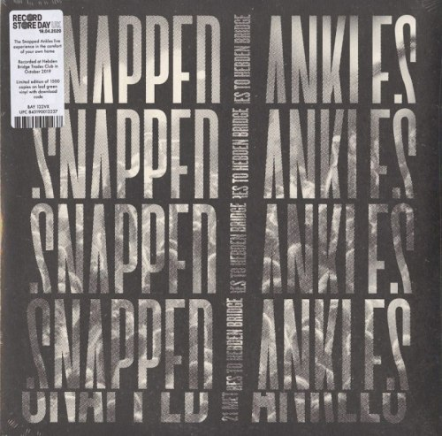 Snapped Ankles - 21 Metres To Hebden Bridge - Ltd Ed, Leaf Green, Colored Vinyl, LP, The Leaf Label, 2020