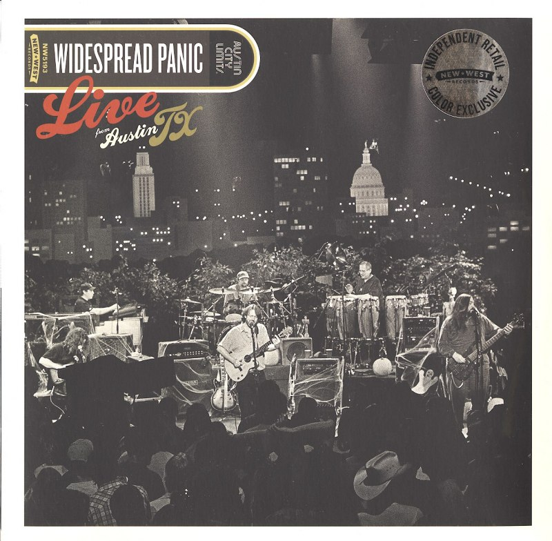 Widespread Panic - Live From Austin, TX - Limited Edition, Colored Vinyl, 2XLP, New West Records, 2020