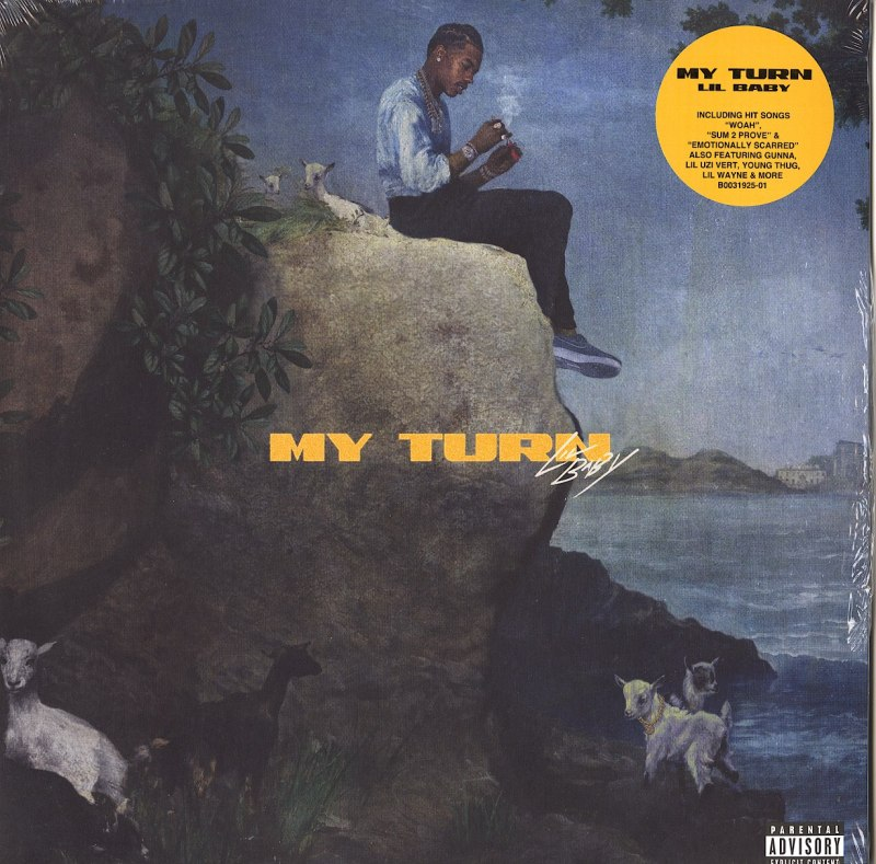 Lil Baby - My Turn - Limited Edition, Blue, Double Vinyl, LP, Quality Control, 2020