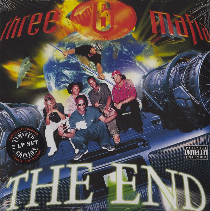 Three 6 Mafia - The End - Limited, Orange, Remastered, Double Vinyl, Hypnotize Minds, 2020