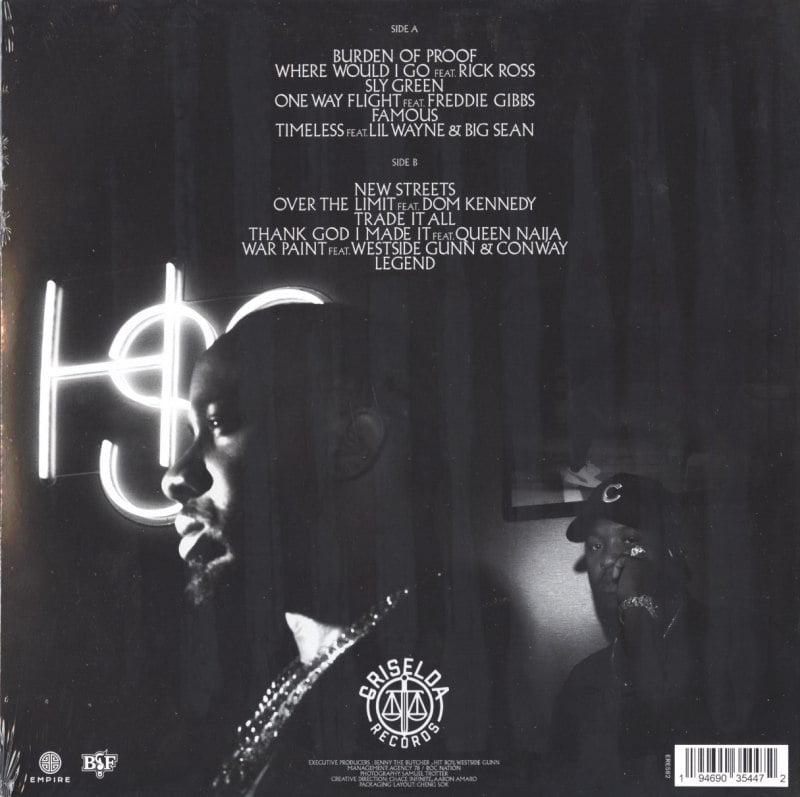 Benny The Butcher - Burden Of Proof - Vinyl, LP, Griselda Records, 2021