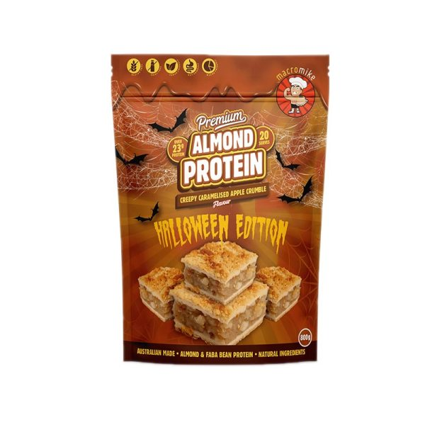 Macro Mike Caramelised Apple Crumble Almond Protein 800g