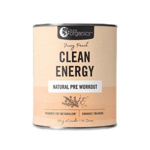 Nutra Organics Clean Energy Juicy Peach 250g