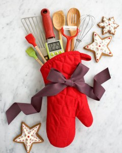 What a cute presentation for the culinary hostess! From: