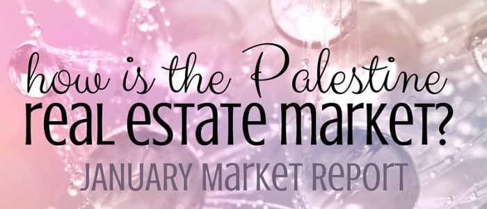 Palestine Real Estate Market Report– January 2016