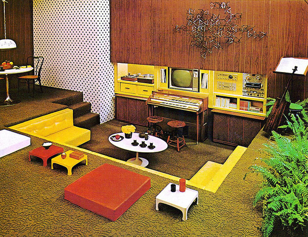 Home Design Flashback: The 1970s vs. Today