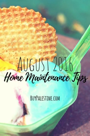 August Home Maintenance Tips for Your Palestine, Texas House