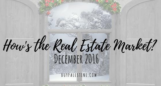 Real Estate Market Report– December 2016