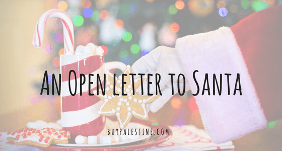 AN OPEN LETTER TO SANTA