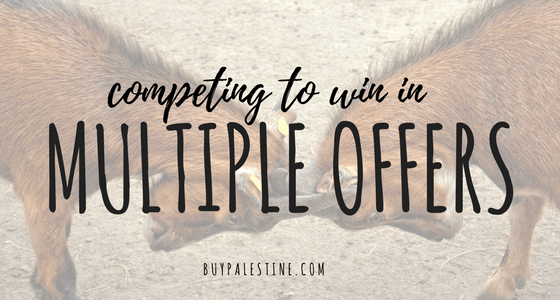 Competing to Win in Multiple Offers when Buying a House