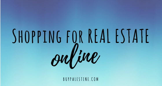 Tips for Shopping for Real Estate Online