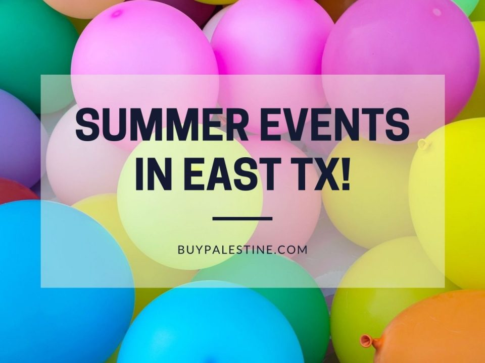 summer events in etx