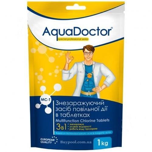 Дезинфицирующее средство 3 в 1 в таблетках 1 кг MC-T AquaDoctor