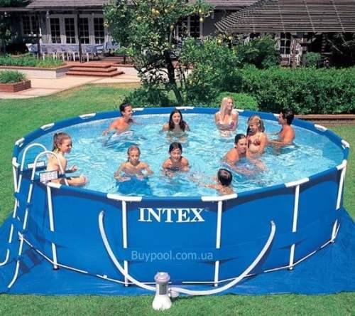 Каркасный бассейн Intex 28228, 457 x 84 см