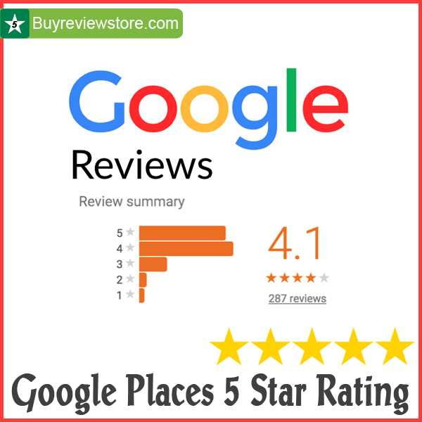 Buy google Reviews 5 Star rating