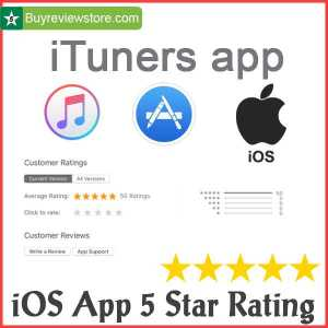 Buy ios App 5 Star Rating