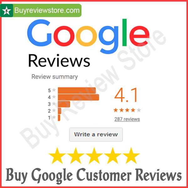 Buy Google Customer Reviews