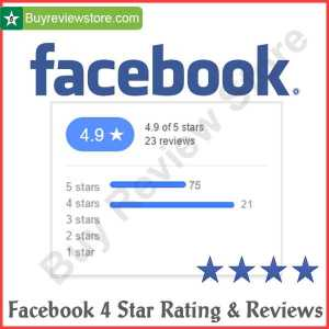 Facebook 4 Star Rating & Reviews