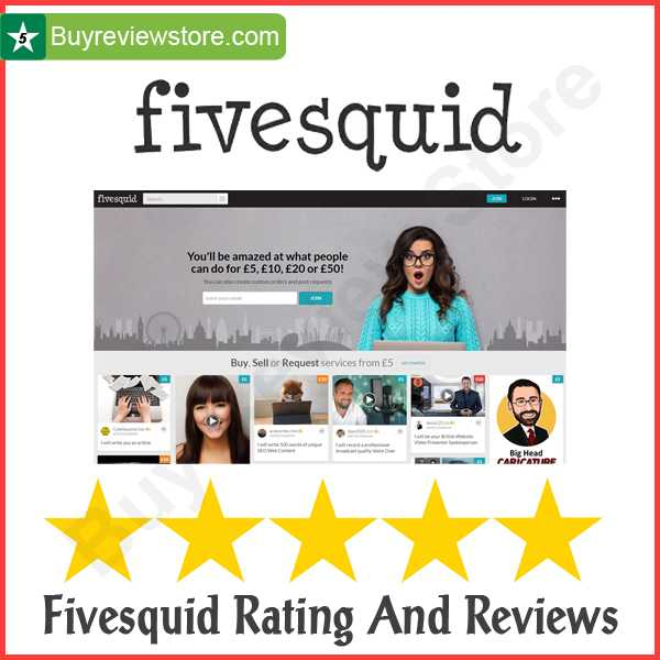 Buy Fivesquid Rating And Reviews