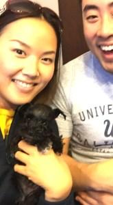 Dog Michelle Tsai, Sadie & Princeton