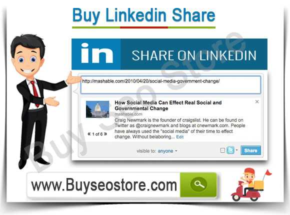 Buy Linkedin Share
